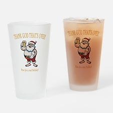 santa-beer-DKT Drinking Glass