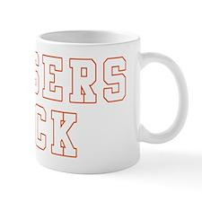 Dodgers Suck orange-white Mug