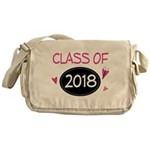 Class of 2018 (butterfly) Messenger Bag