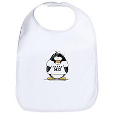 Marry Me Penguin Bib