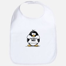 Marry Me Penguin Bib