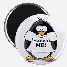 "Marry Me Penguin 2.25"" Magnet (10 pack)"