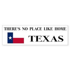 Texas Bumper Bumper Sticker