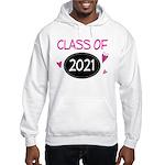 Class of 2021 (butterfly) Hooded Sweatshirt