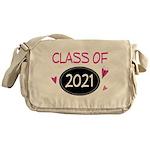 Class of 2021 (butterfly) Messenger Bag