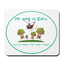 earl3trees Mousepad