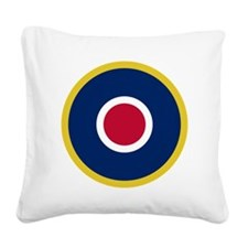 RAF Roundel - Type C1 Square Canvas Pillow