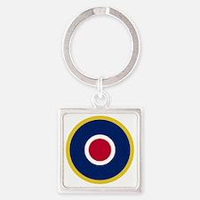 RAF Roundel - Type C1 Square Keychain