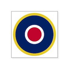 "RAF Roundel - Type C1 Square Sticker 3"" x 3"""