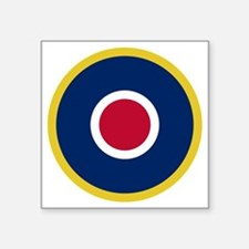 "RAF Roundel - Type C1 Square Sticker 3"" x 3"""