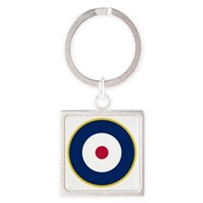 RAF Roundel - Type A2 Square Keychain