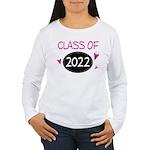 Class of 2022 (butterfly) Women's Long Sleeve T-Sh