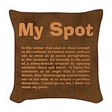 Big bang quotes Throw Pillows