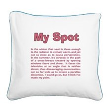 Unique Sheldon. coopers Square Canvas Pillow