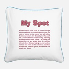 Cute The big bang theory light sticks Square Canvas Pillow