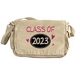 Class of 2023 (butterfly) Messenger Bag