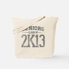 2k13_grey Tote Bag