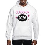 Class of 2026 (butterfly) Hooded Sweatshirt