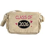 Class of 2026 (butterfly) Messenger Bag