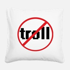troll Square Canvas Pillow