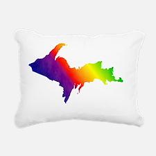 2000_X_2000_Rainbow_U.P. Rectangular Canvas Pillow
