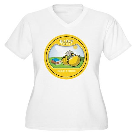 read copy Women's Plus Size V-Neck T-Shirt