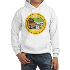 think safety copy Hoodie
