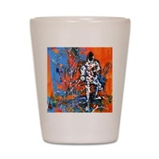 Abstract Epee2 Shot Glass