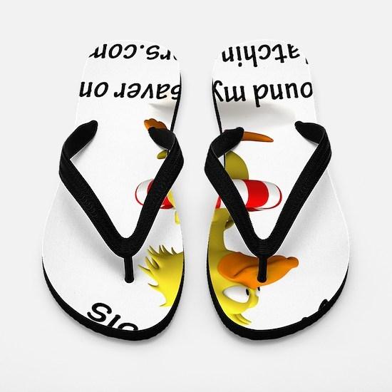 Duck-Fialysisfound Flip Flops