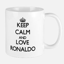 Keep Calm and Love Ronaldo Mugs