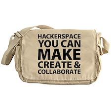 logo_final_black_back Messenger Bag
