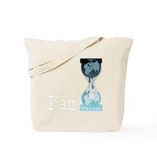I am wikileaks3white Tote Bag