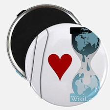 i heart wikileaks2white Magnet