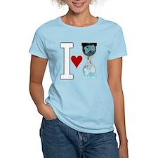 i heart wikileakswhite T-Shirt