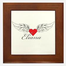Angel Wings Eliana Framed Tile