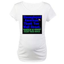UnemployedBlack Background Shirt