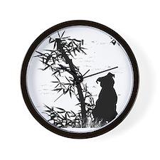 bamboo_clear Wall Clock