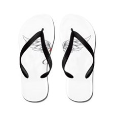 Angel Wings Elisa Flip Flops
