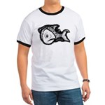 Jesse's Tree Fish Ringer T
