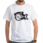 Jesse's Tree Fish White T-Shirt