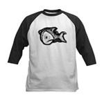 Jesse's Tree Fish Kids Baseball Jersey