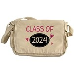 Class of 2024 (butterfly) Messenger Bag