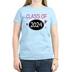 Class of 2024 (butterfly) Women's Light T-Shirt