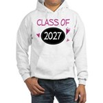 Class of 2027 (butterfly) Hooded Sweatshirt
