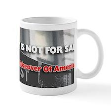 Democracy Not For Sale Bumper Sticker Mug