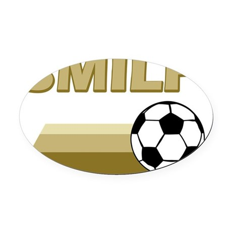 smilf2 - flat Oval Car Magnet