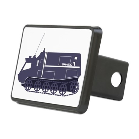 Mobile 1 Rectangular Hitch Cover