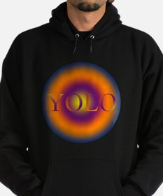 you only live once YOLO Hoodie