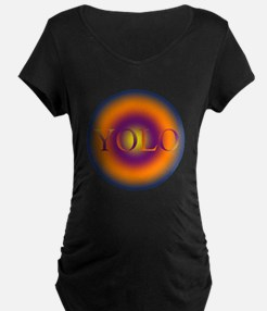 you only live once YOLO Maternity T-Shirt