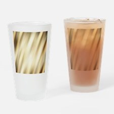 champagne color abstract pattern Drinking Glass